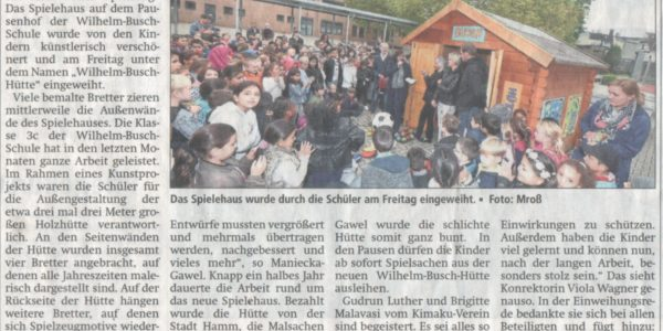 Pressebericht WBHütte