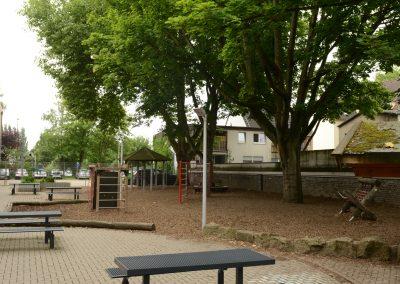 Wilhelm Busch Schule Hamm Außengelände